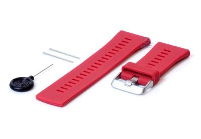 Wechselarmband für Polar V800 rot