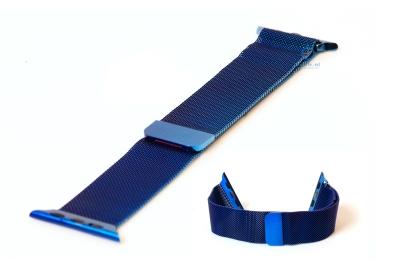 Wechselband für Apple watch 38mm - blau Mailänder