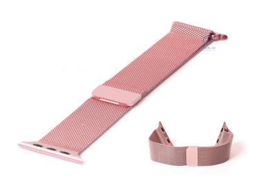 Wechselband für Apple watch 38mm - rosa Mailänder