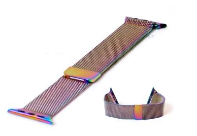 Wechselband für Apple watch 38mm - multicolor Mailänder
