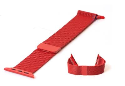 Wechselband für Apple watch 38mm - rot Mailänder