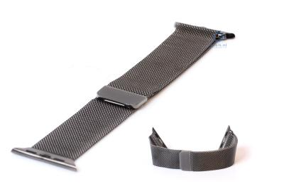 Wechselband für Apple watch 38mm - grau Mailänder