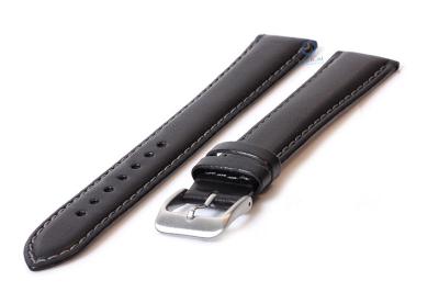 Extra lange Uhrenarmband 20mm hellbraun Leder - XXL