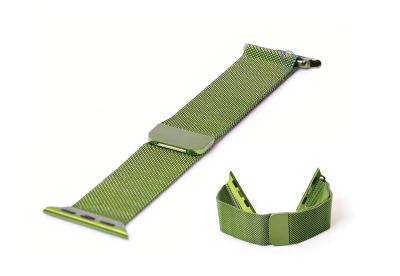 Wechselband für Apple watch 38mm - grün Mailänder