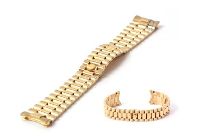 Rolex Style Uhrenarmband 18mm Edelstahl