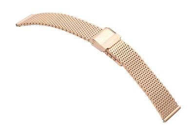 Samsung Galaxy Uhrenarmband mesh rose Gold