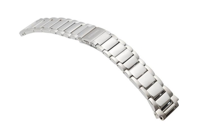 Samsung Galaxy Uhrenarmband Stahl Silber (46m)
