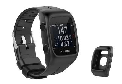 Silikon Schutzhülle für Polar M400/M430 - schwarz