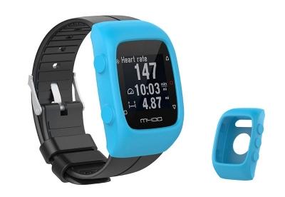 Silikon Schutzhülle für Polar M400/M430 - hellblau