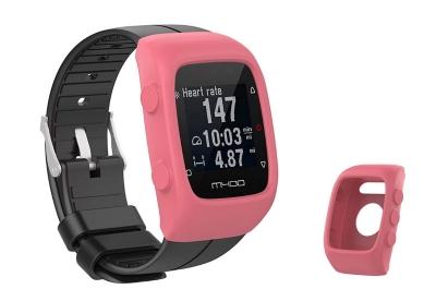 Silikon Schutzhülle für Polar M400/M430 - coral rosa