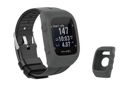 Silikon Schutzhülle für Polar M400/M430 - grau