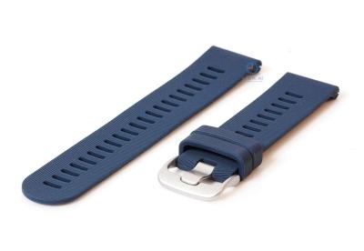 Silikonband 20mm Dunkelblau