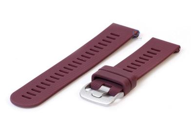 Silikonband 20mm Violett