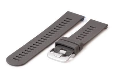 Silikonband 20mm Grau