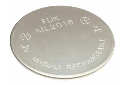 Wiederaufladbare Batterie ML2016
