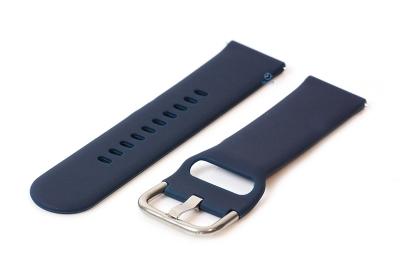 Uhrenarmband 22mm silikon dunkelblau
