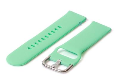 Uhrenarmband 22mm silikon mintgrün