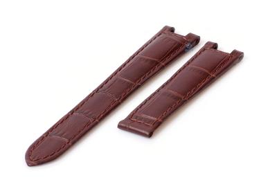Uhrenarmband für Cartier Versailles - 16mm braun