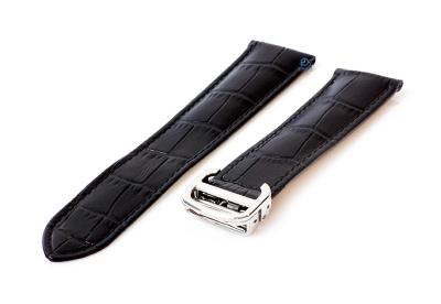 Uhrenarmband für Cartier - 20/18mm schwarz