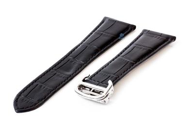 Uhrenarmband für Cartier - 22/18mm schwarz
