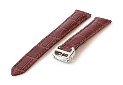 Uhrenarmband für Cartier - 18/16mm braun