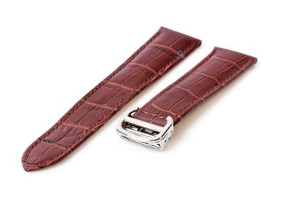 Uhrenarmband für Cartier - 22/18mm braun