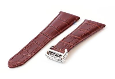 Uhrenarmband für Cartier - 25/18mm braun