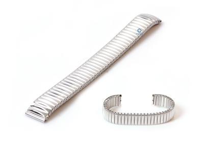 14mm Edelstahlzugband -silber