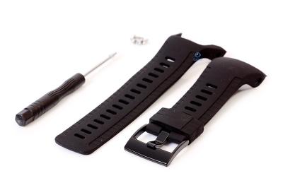 Suunto 5 Silicone strap - schwarz