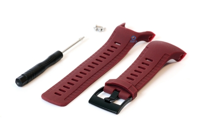 Suunto 5 Silicone strap - beetred