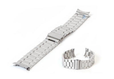 Samsung Galaxy Uhrenarmband - silber Stahl (46mm)