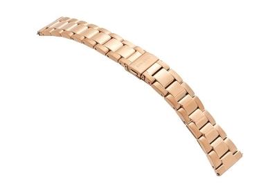 Samsung Galaxy Uhrenarmband - rosegold Stahl (42mm)