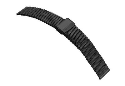 Samsung Galaxy Active2 Uhrenarmband - Mesh schwarz (44mm)