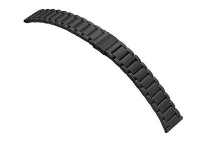 Samsung Galaxy Active2 Uhrenarmband - schwarz Stahl (44mm)