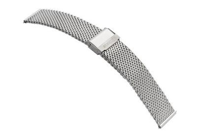 Samsung Galaxy Active2 Uhrenarmband - Mesh silber (44mm)