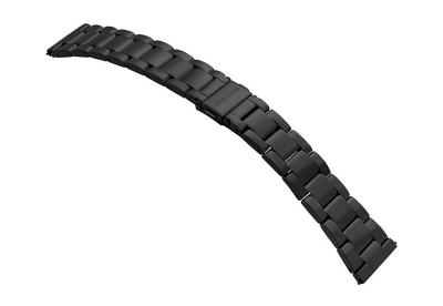 Samsung Galaxy Active2 Uhrenarmband - schwarz Stahl (40mm)