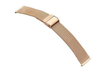 Samsung Galaxy Active2 Uhrenarmband - Mesh rosegold (40mm)