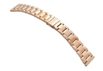 Samsung Galaxy Active2 Uhrenarmband - rosegold Stahl (40mm)