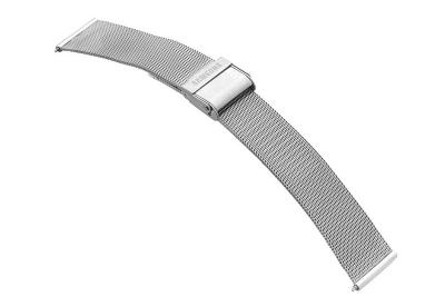 Samsung Galaxy Active2 Uhrenarmband - Mesh silber (40mm)