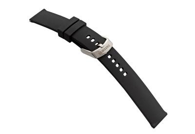 Samsung Galaxy Active2 Uhrenarmband - silikon schwarz (S)