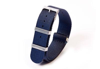 Textil Nato Strap - dunkelblau