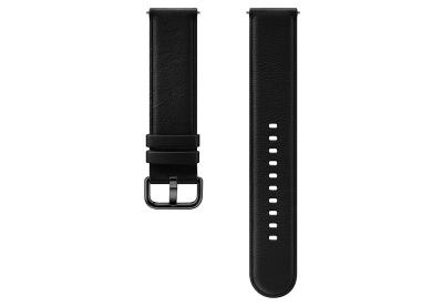 Samsung Galaxy Active 2 Lederarmband - schwarz (S/M)